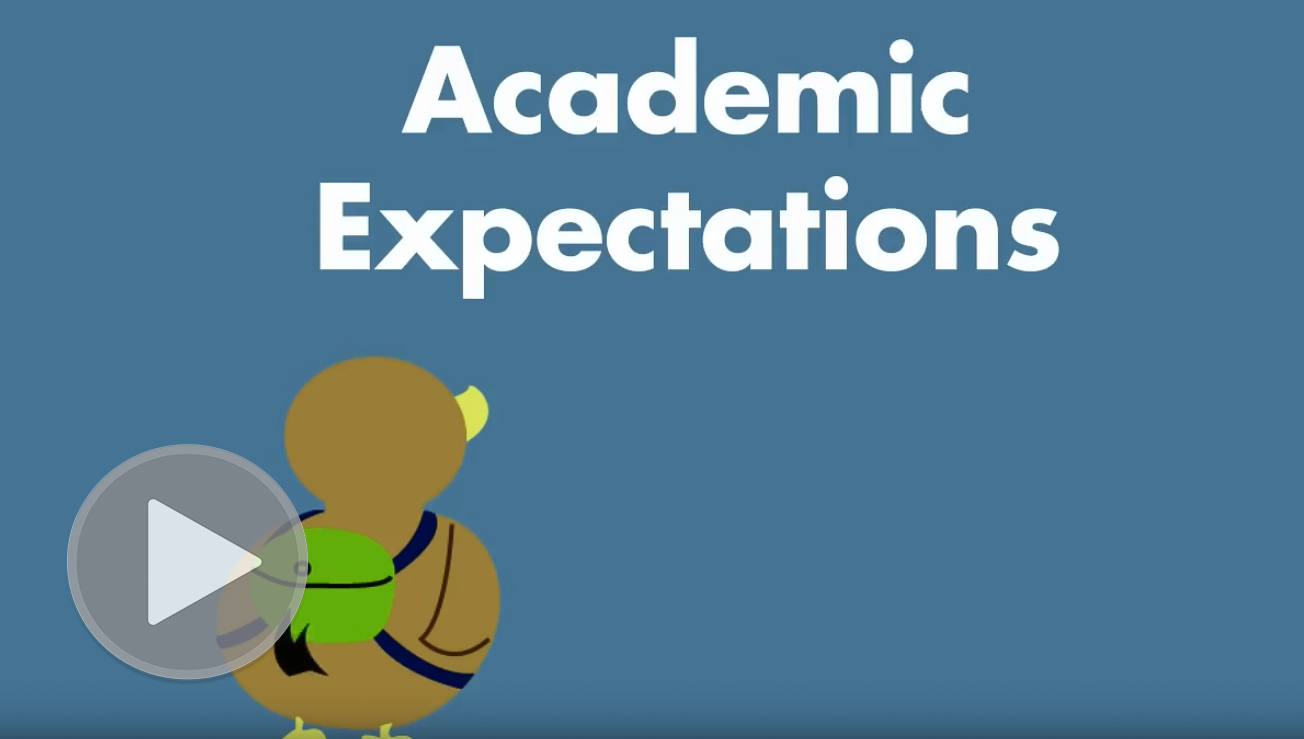 Academic Expectations Video