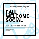 2019 Fall Welcome Social