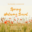 Spring Welcome Social
